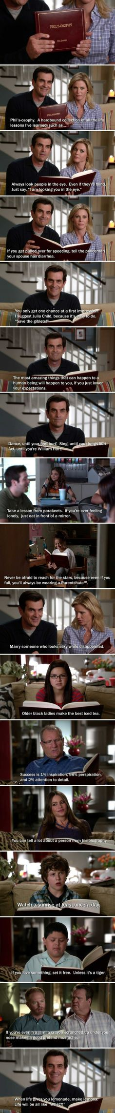 Phil's-osophy    ... one of the sweetest episodes of Modern Family <3