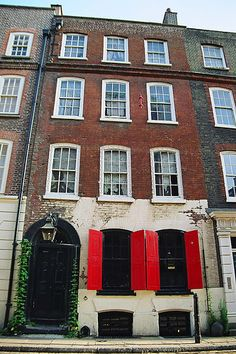 Dennis Severs' House in Spitalfields, London. One of my favourite places in the world. A Georgian time capsule.