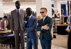 Ryan Gosling's suits in Crazy, Stupid, Love