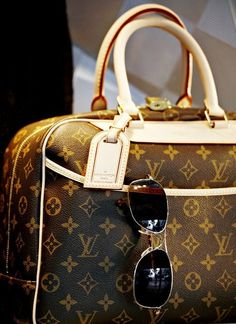 Louis Vuitton purses :) One day I will own you