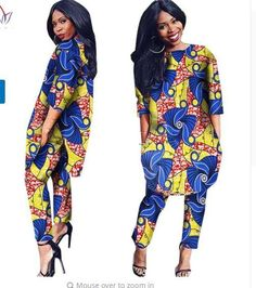 77486f19320 African Clothes Two Pieces Set Three Quarter Sleeve Outwear Women Shirt  Dress and Long Pants with
