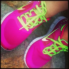 Nike running shoes <3 feels like I'm running on clouds!