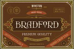 WT Bradford Free Typeface