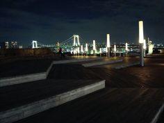 Rainbow Bridge, Tokyo. Rainbow Bridge, San Francisco Skyline, Tokyo, Travel, Viajes, Tokyo Japan, Destinations, Traveling, Trips