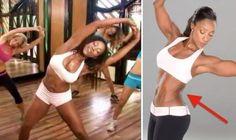 Tiffany Rothe - trening na boczki. Super trening dzięki, któremu spalisz boczki. Ćwiczenia, które zmienią wyszczuplą talię.