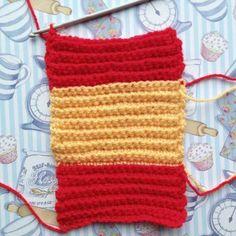Free crochet tutorial iron man fingerless mittens Crafternoon Treats 16