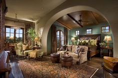 Master Suite -  Spanish Colonial