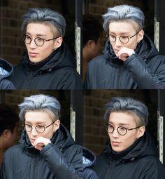 damn Jongup with glasses XO