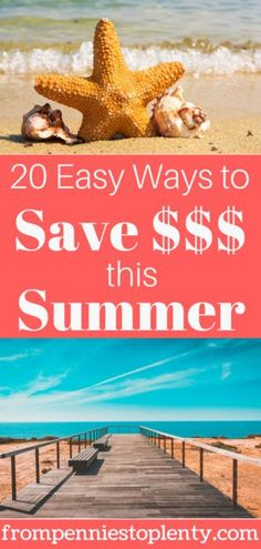 Summer can be a budget buster, but it doesn't have to be. These 20 ways to save money will have you sticking to your budget and still having fun. Best Money Saving Tips, Ways To Save Money, Saving Money, How To Make Money, Money Tips, Frugal Living Tips, Frugal Tips, Diy Décoration, Financial Tips