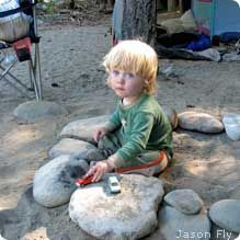 Ten Tips for Camping with Toddlers  You don't have put outdoor adventures on hold when your kids are small. Just be prepared! (Maybe try backyard camping)