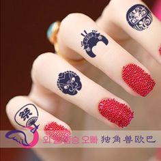 原宿纹身贴日本刺青防水纹身贴纸男女P789日本艺妓武士扇子祭福神