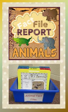 Challenge your students to create an Animal Report that can ALSO be used as an activity for your fast finishers. ($)