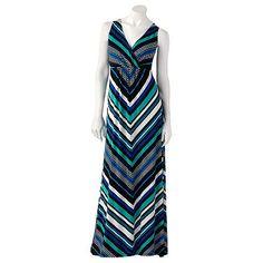 Apt. 9 Chevron Maxi Dress