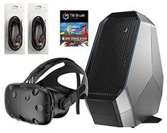 www.realidadvirtual360vr.com HTC Vive 4 Items Bundle: HTC Vive Virtual-Reality…