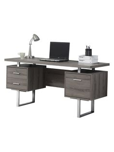 Reclaimed-Look Office Desk from Easy Pieces to Modernize Your Space on Gilt