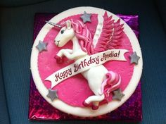 unicorn birthday cake
