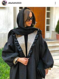 Hijab Fashion Summer, Abaya Fashion, Muslim Fashion, Modest Fashion, Fashion Drawing Dresses, Fashion Dresses, Iranian Women Fashion, Womens Fashion, Mode Kimono