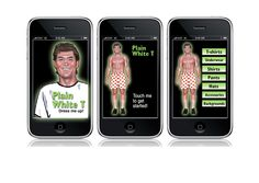 Plain White T is an iPhone app which allows user to dress up man in different clothing and post pictures to Facebook.