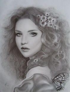 pencil shading portrait