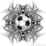 Tribal Tattoos Sports Soccer Ball Soccerball Tattoo MoreTribal Soccer Tattoos