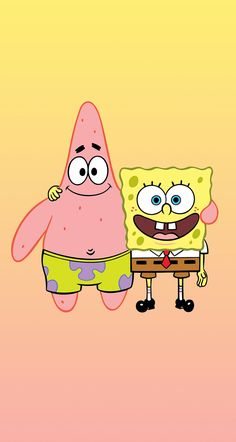 spongebob and patrick star Cartoon Wallpaper, Disney Wallpaper, Wallpaper Spongebob, Spongebob Background, Spongebob Painting, Spongebob Drawings, Cartoon Cartoon, Cartoon Characters, Patrick Star