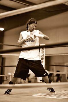 Shadow boxing | Christina Kwan