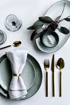 Understated festive table setting ideas | Broste Copenhagen