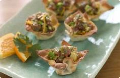 ... FISH : RAW on Pinterest | Ceviche, Scallop ceviche and Salmon tartare