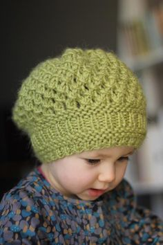 Pomme Hat | Gift idea for people with babies. (Ugh.)