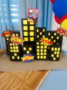Ideas for decorating superheroes, Incredibles Birthday Party, Superman Birthday Party, Avengers Birthday, Batman Party, Birthday Invitations Kids, Birthday Party Decorations, Birthday Parties, Superhero Party Decorations, 5th Birthday