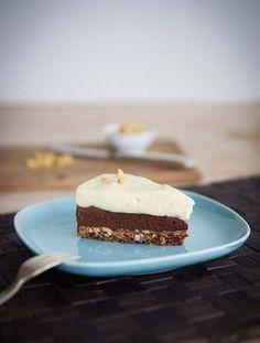 Schoko-Erdnuss-Torte mit Vanillecreme