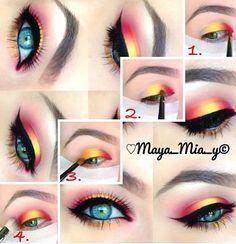 Makeup Revolution Hyaluronic Fixing Spray Huda Beauty Rose Gold Palette Makeup Looks Eye Makeup Art, Eye Makeup Tips, Smokey Eye Makeup, Makeup Goals, Makeup Inspo, Makeup Inspiration, Beauty Makeup, Summer Eye Makeup, Makeup App