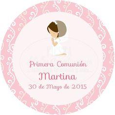 Etiquetas Comunión 007- Niño comunión iglesia - Fiesta detalles e ...