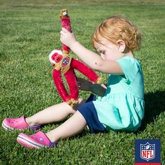 She'll take this plush San Francisco 49ers toy with her wherever she goes. (via Fancy Shanty)