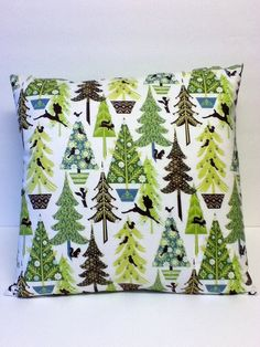 16 x 16 Holiday/Christmas Throw Pillow with by PurfectlyEnclosed, $25.00