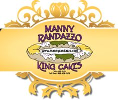 King Cake from Randazzo's is one of the best.