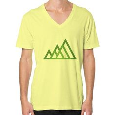 Mountains V-Neck (on man) Shirt