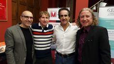 Francisco Alcaide, Marcos Alvarez y Javier Iriondo en nuestra 17 TMT