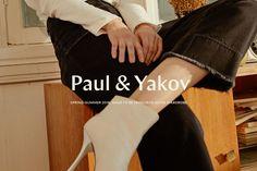 Paul & Yakov brand identity by Timur Makhachev #InspoFinds