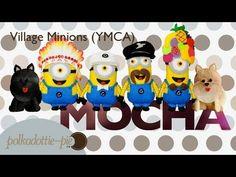 Village Minions YMCA Plush - DIY Felt Craft - PolkadottiePie Tutorial