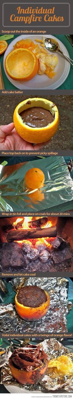 Oranges, Fire And Deliciousness  #Food #Drink #Trusper #Tip