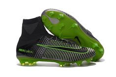 af75559bff3 Nike Kids and Womens Mercurial Superfly V FG Pure Plantinum Black Ghost  Green - Women And Kids Soccer Shoes