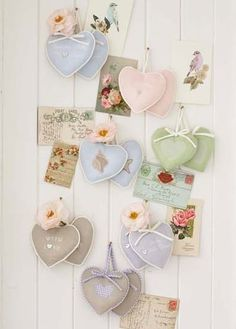 nqaiyimah:  acottageinthewoods:  secretsofabutterfly:  lavender hearts: photo from Selina Lake's blog andavaliable at retreat home online(click for link)