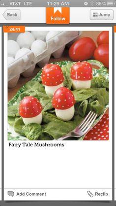 """Mushroom"" appetizers"