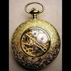 Steampunk Crafts | gorgeous steampunk pocket watch repinned from steampunk by cheryl 1109