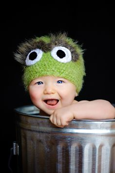 Oscar the grouch hat!