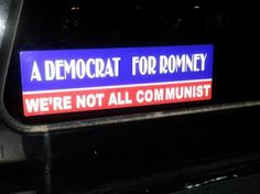 Some democrats-not-communists...  I like seeing this...Hopefully there is more...Stand Up For You Country People.. Romney/Ryan 2012