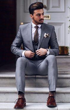 Men Suits -- Click VISIT link for more info #mensuits2017 #mensuitsgrey