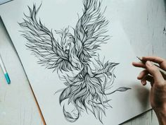 Phoenix Tattoo Feminine, Tribal Phoenix Tattoo, Phoenix Bird Tattoos, Phoenix Tattoo Design, Thor Tattoo, Raven Tattoo, Forearm Tattoos, Body Art Tattoos, Small Tattoos