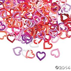 Mini Heart Linking Charms  144 pc for $4